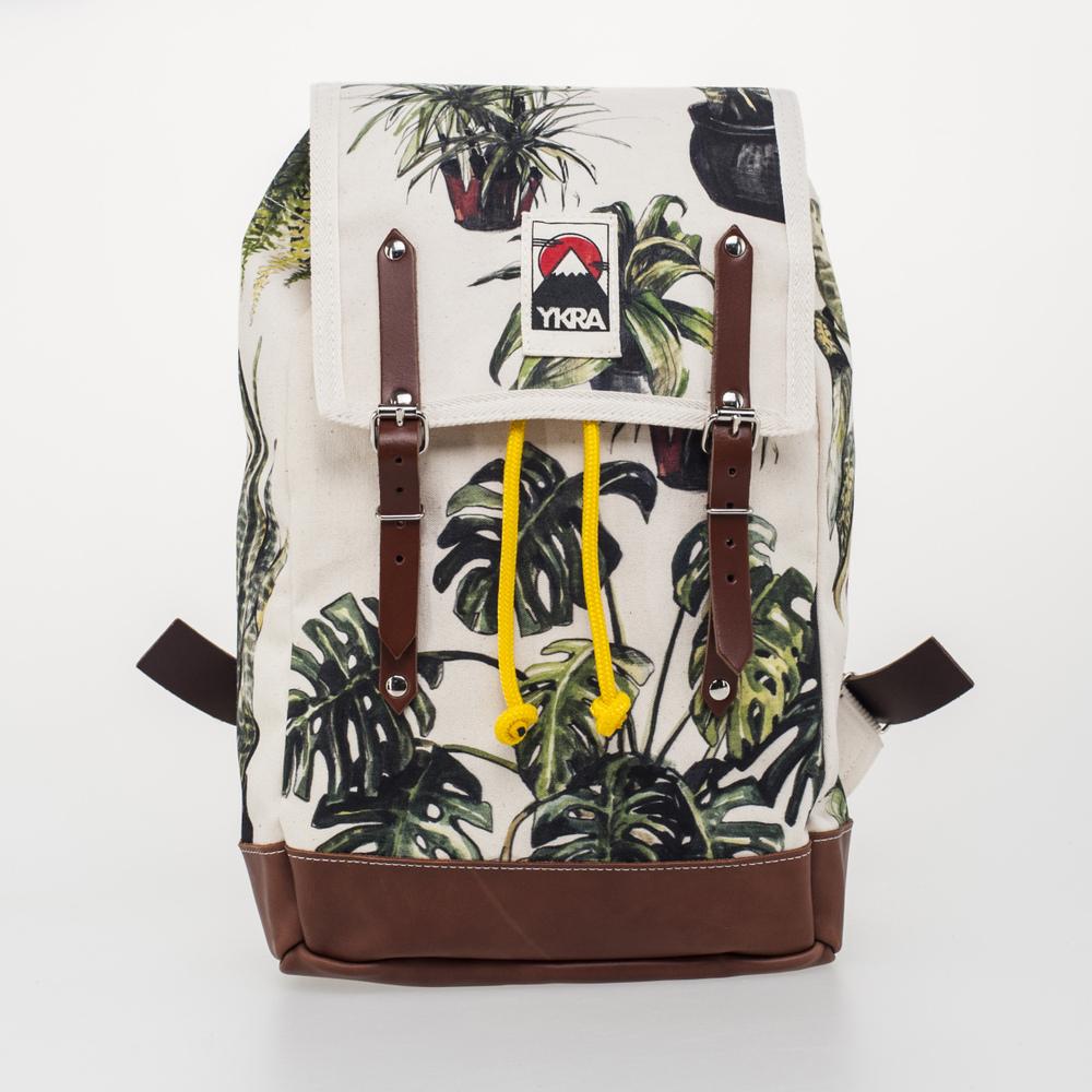 DORI_TOMCSÁNYI_x_YKRA_PLANT_PRINT_MATRA_Mini_backpack