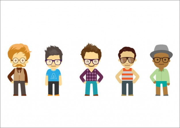 5-hipster-characters--vector-pack_62147502839