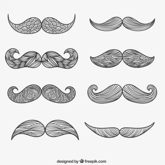 moustache-hand-drawn_23-2147504437